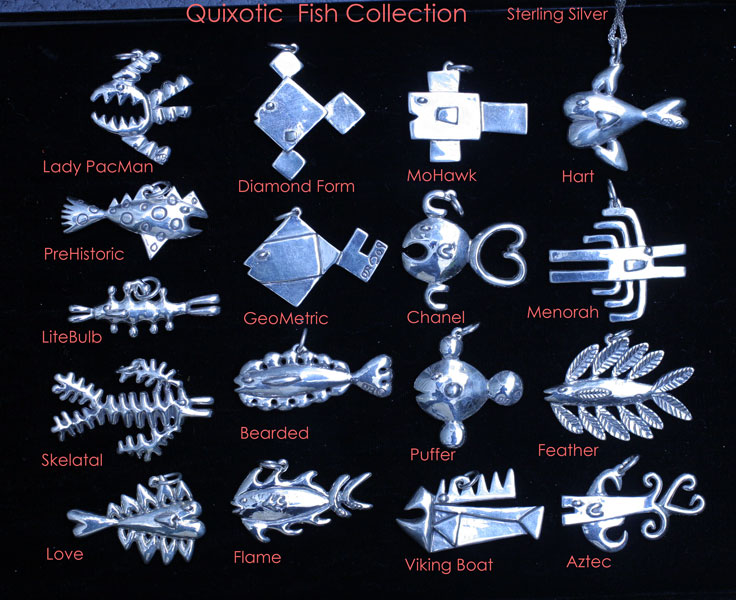 fish silver collection